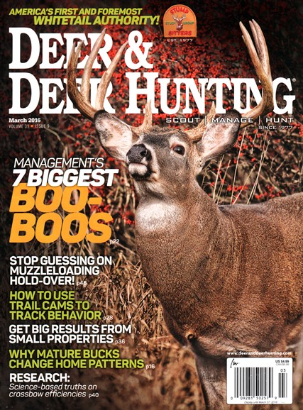 Deer & Deer Hunting Cover - 3/1/2016