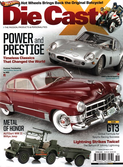 Diecast X Cover - 3/1/2016