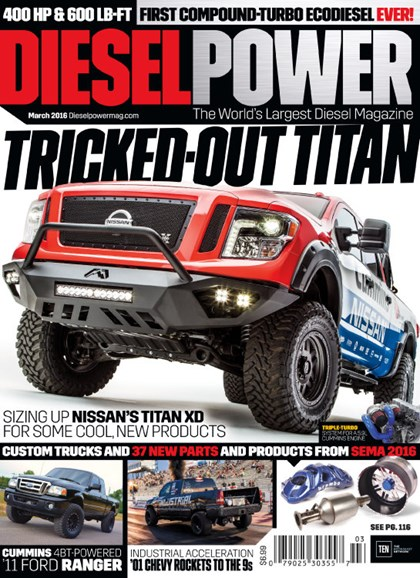 Diesel Power Cover - 3/1/2016