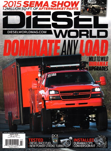 Diesel World Cover - 3/1/2016
