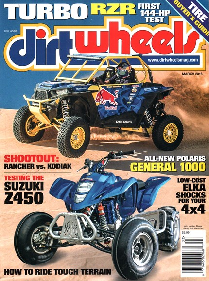Dirt Wheels Cover - 3/1/2016