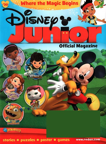 Disney Junior Cover - 3/1/2016