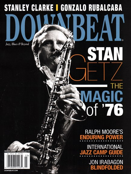 DownBeat Cover - 3/1/2016