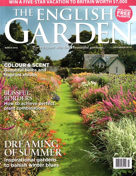 The English Garden Cover - 3/1/2016