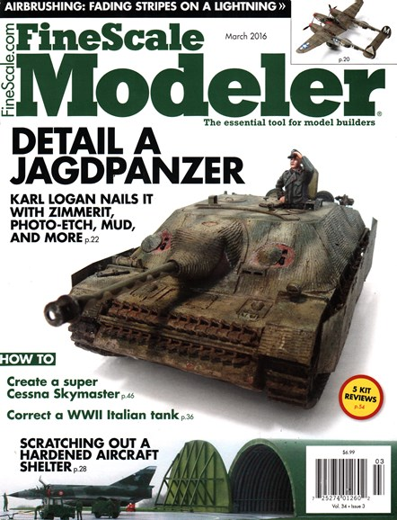 Finescale Modeler Cover - 3/1/2016