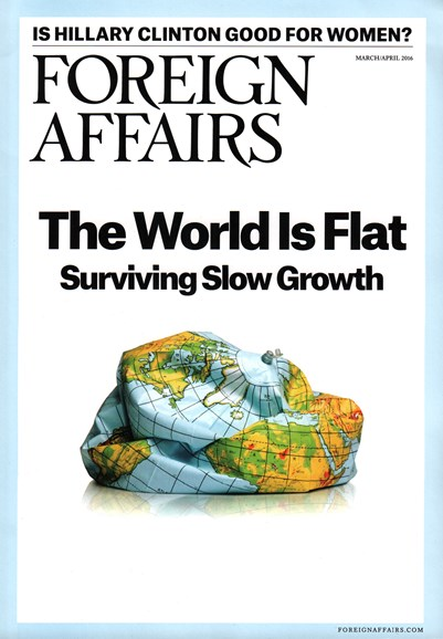 Foreign Affairs Cover - 3/1/2016