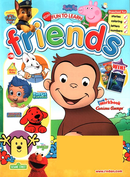 Preschool Friends Cover - 3/1/2016