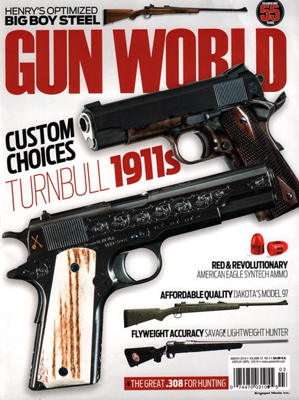 Gun World Cover - 3/1/2016