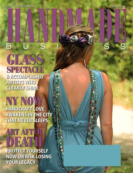 Handmade Business Cover - 3/1/2016