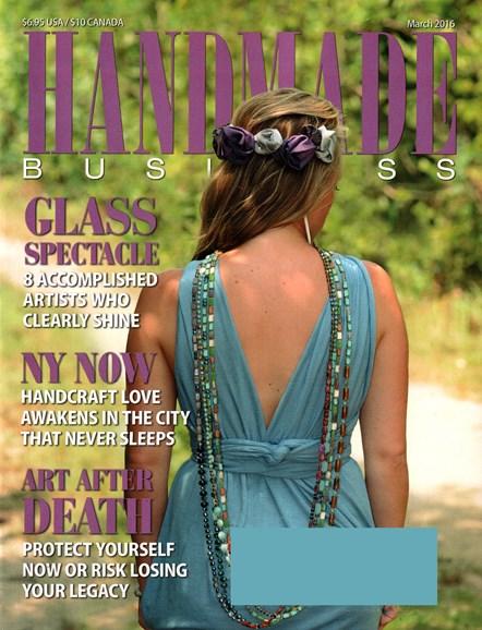 Handmade Business Cover - 3/1/2016