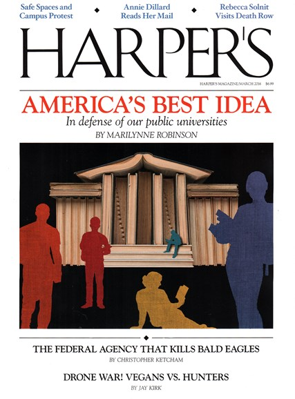 Harper's Cover - 3/1/2016