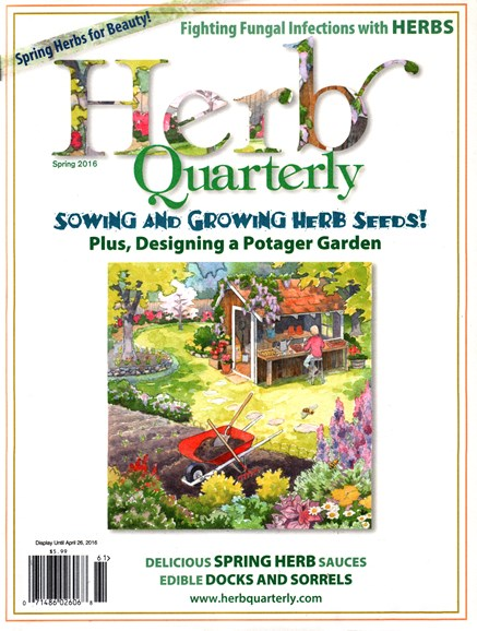 Herb Quarterly Cover - 3/1/2016