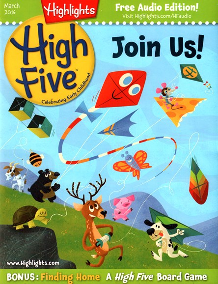 Highlights High Five Cover - 3/1/2016