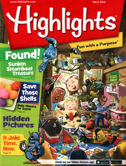 Highlights Cover - 3/1/2016