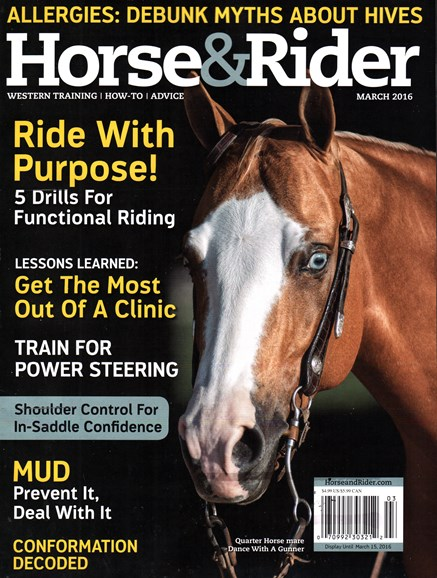 Horse & Rider Cover - 3/1/2016