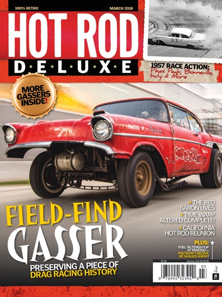 Hot Rod Deluxe Cover - 3/1/2016