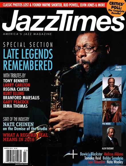 JazzTimes Cover - 3/1/2016