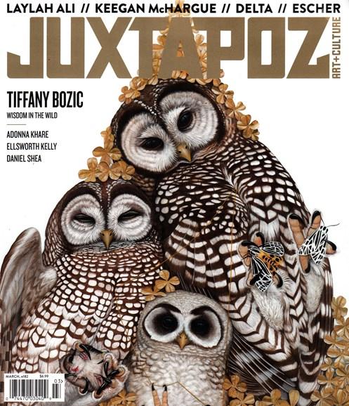 Juxtapoz Cover - 3/1/2016