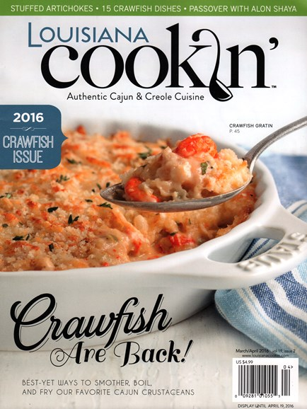 Louisiana Cookin' Cover - 3/1/2016