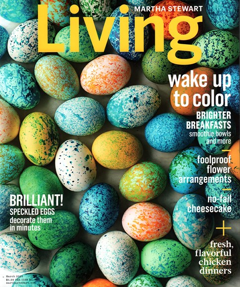 Martha Stewart Living Cover - 3/1/2016
