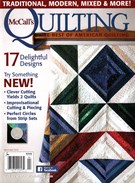 Mccall's Quilting Magazine 3/1/2016