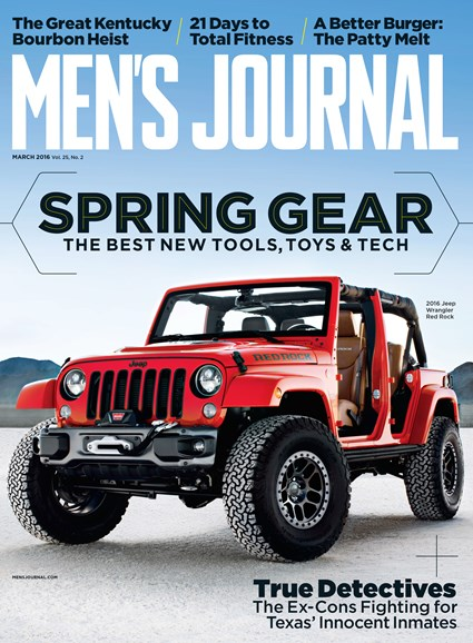 Men's Journal Cover - 3/1/2016