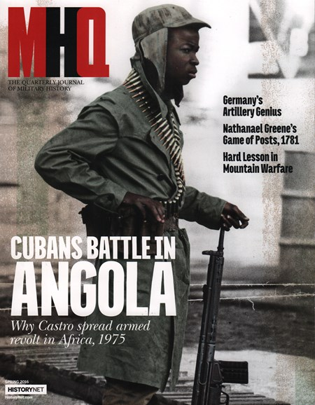 MHQ: Military History Quarterly Cover - 3/1/2016