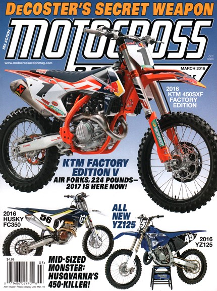 Motocross Action Cover - 3/1/2016