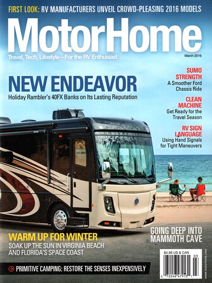 MotorHome Cover - 3/1/2016