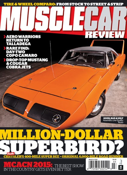 Muscle Car Review Cover - 3/1/2016