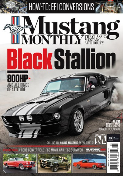 Mustang Monthly Cover - 3/1/2016