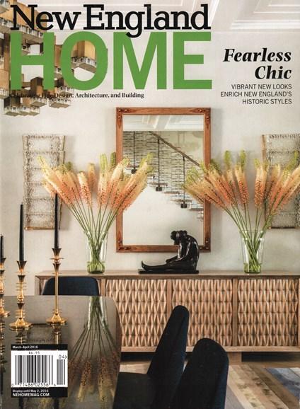 New England Home Cover - 3/1/2016
