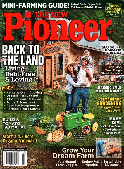 The New Pioneer Cover - 3/1/2016
