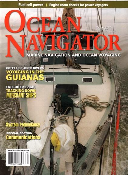 Ocean Navigator Cover - 3/1/2016
