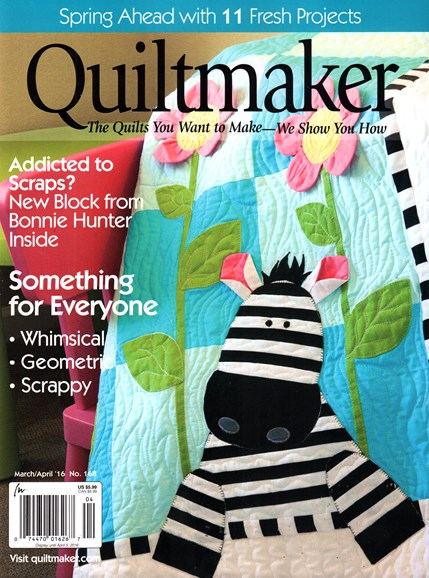Quiltmaker Cover - 3/1/2016