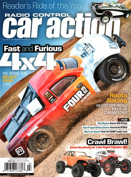 Radio Control Car Action Cover - 3/1/2016