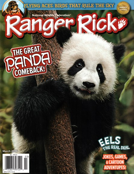 Ranger Rick Cover - 3/1/2016