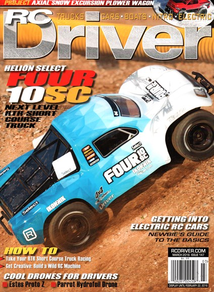 RC Driver Cover - 3/1/2016