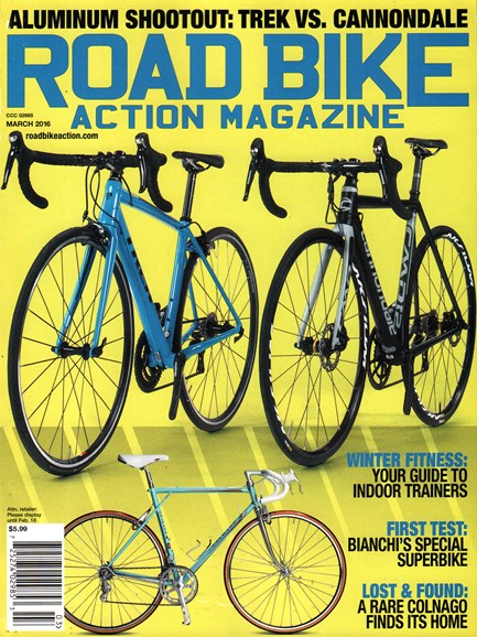 Road Bike Action Cover - 3/1/2016