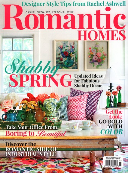 Romantic Homes Cover - 3/1/2016