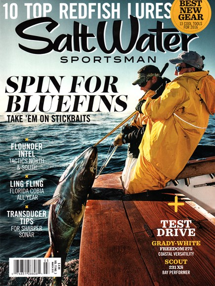 Salt Water Sportsman Cover - 3/1/2016
