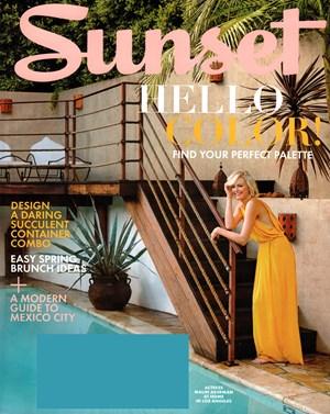 Sunset Magazine | 3/1/2016 Cover