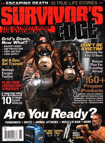 Survivor's Edge Cover - 3/1/2016