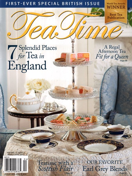 Tea Time Cover - 3/1/2016