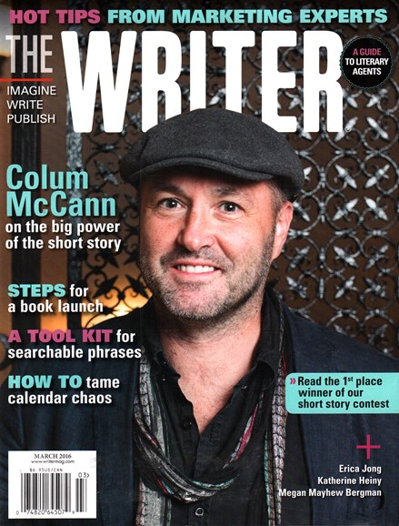 The Writer Cover - 3/1/2016