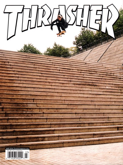 Thrasher Cover - 3/1/2016