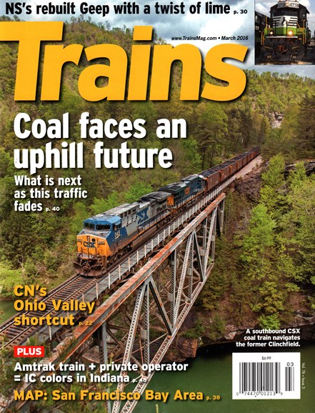 Trains Cover - 3/1/2016