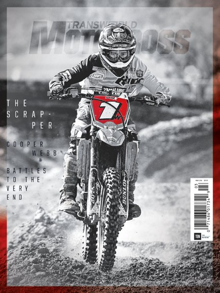 Transworld Motocross Cover - 3/1/2016