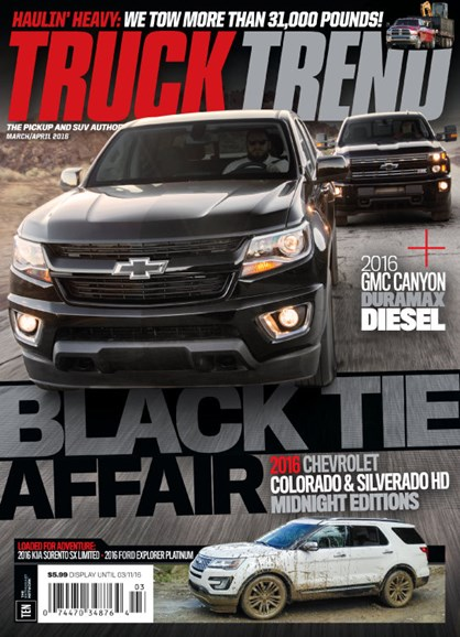 Truck Trend Cover - 3/1/2016