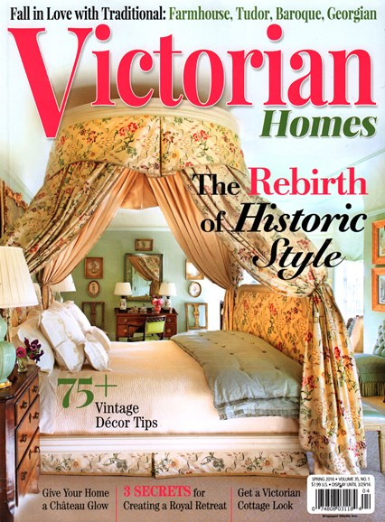 Victorian Homes Cover - 3/1/2016